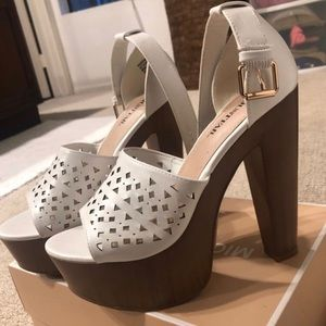 JustFab Pump heels size 8.5